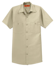 Load image into Gallery viewer, Red Kap Long Size  Short Sleeve Industrial Work Shirt. SP24LONG