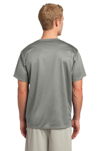 CLOSEOUT Sport-Tek PosiCharge Tough Mesh Henley. ST215
