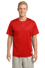Load image into Gallery viewer, CLOSEOUT Sport-Tek PosiCharge Tough Mesh Henley. ST215