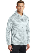 Load image into Gallery viewer, Sport-Tek Sport-Wick CamoHex Fleece Hooded Pullover. ST240