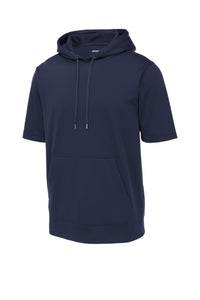 Sport-Tek  Sport-Wick  Fleece Short Sleeve Hooded Pullover. ST251