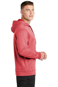 Sport-Tek  PosiCharge  Sport-Wick  Heather Fleece Hooded Pullover. ST264