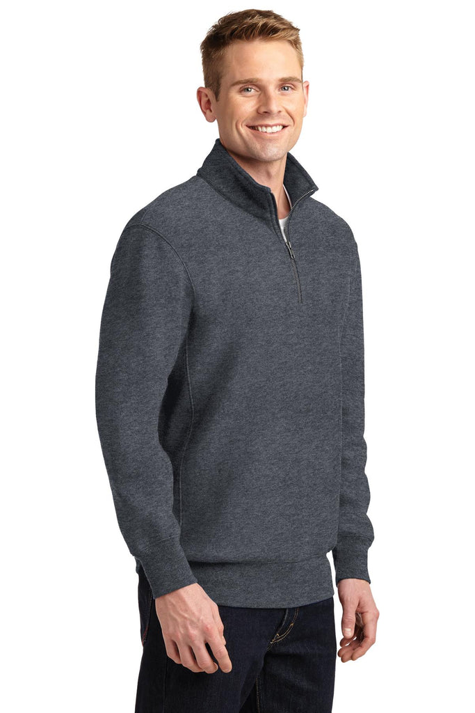Sport-Tek Super Heavyweight 1/4-Zip Pullover Sweatshirt. ST283