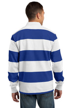 Load image into Gallery viewer, CLOSEOUT Sport-Tek Long Sleeve Rugby Polo. ST300