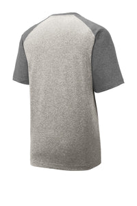 Sport-Tek  Heather-On-Heather Contender  Tee. ST362