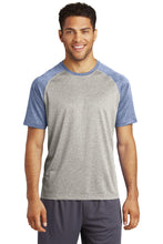 Load image into Gallery viewer, Sport-Tek  Heather-On-Heather Contender  Tee. ST362
