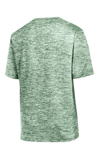 Sport-Tek PosiCharge Electric Heather Tee. ST390