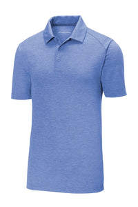 Sport-Tek  PosiCharge  Tri-Blend Wicking Polo. ST405
