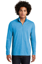 Load image into Gallery viewer, Sport-Tek  PosiCharge  Tri-Blend Wicking 1/4-Zip Pullover. ST407