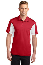 Load image into Gallery viewer, Sport-Tek Side Blocked Micropique Sport-Wick Polo. ST655