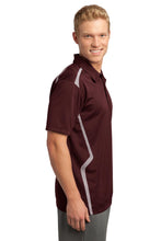 Load image into Gallery viewer, CLOSEOUT Sport-Tek Vector Sport-Wick Polo. ST670