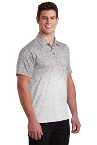 Sport-Tek  Ombre Heather Polo. ST671