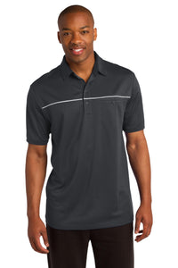 CLOSEOUT Sport-Tek PosiCharge Micro-Mesh Piped Polo. ST686
