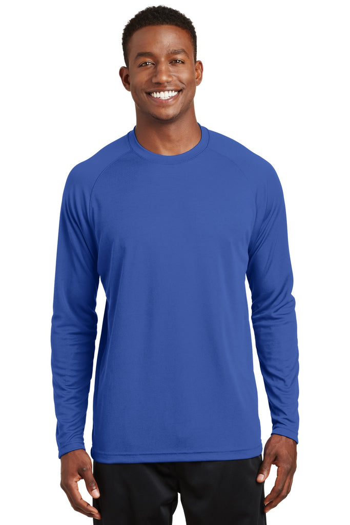 Sport-Tek Dry Zone Long Sleeve Raglan T-Shirt. T473LS