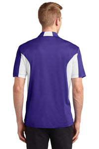 Sport-Tek Tall Side Blocked Micropique Sport-Wick Polo. TST655