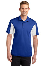Load image into Gallery viewer, Sport-Tek Tall Side Blocked Micropique Sport-Wick Polo. TST655