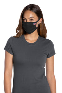 Port Authority  All-American Cotton Knit Face Mask 5 pack (100 packs = 1 Case). USPAMASK