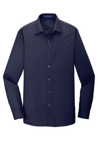 Port Authority  Slim Fit Carefree Poplin Shirt. W103