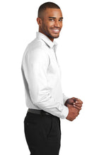 Load image into Gallery viewer, Port Authority  Slim Fit Carefree Poplin Shirt. W103