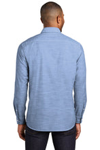Load image into Gallery viewer, Port Authority Slub Chambray Shirt. W380