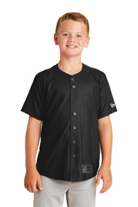 New Era  Youth Diamond Era Full-Button Jersey. YNEA220