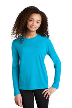 Load image into Gallery viewer, Sport-Tek  Youth Posi-UV Pro Long Sleeve Tee. YST420LS