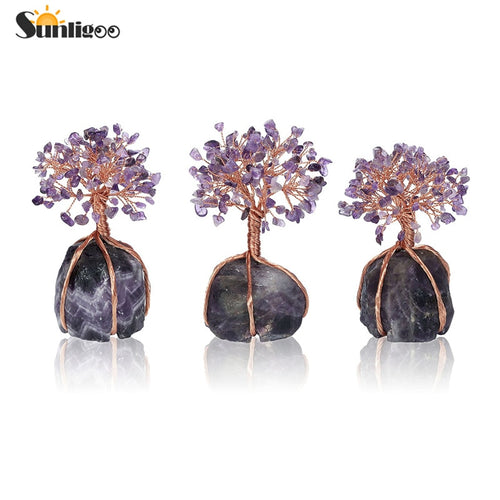 Amethyst Feng Shui Tree of Life