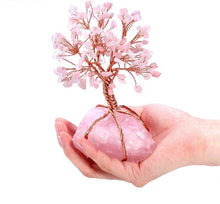 Rose Quartz Feng Shui Tree of Life