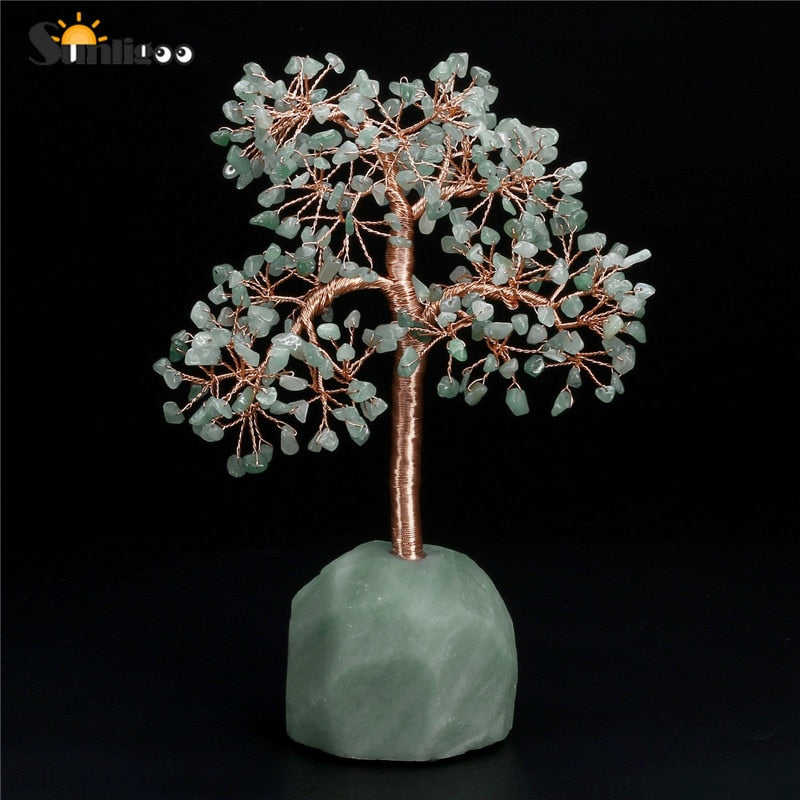 Natural Stone Feng Shui Tree of Life