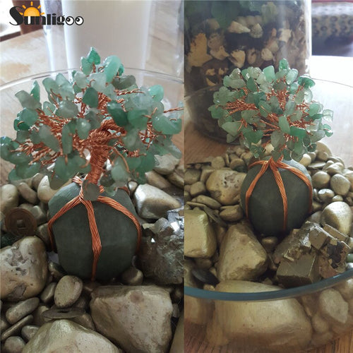 Aventurine Feng Shui Tree of Life