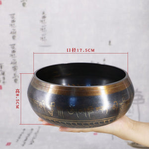 Tibetan Copper Singing Bowl
