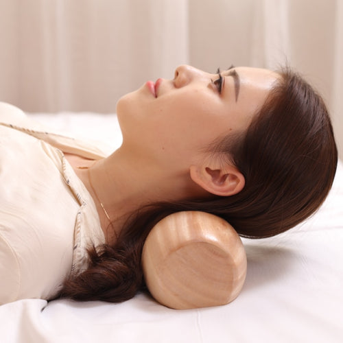 Solid Wood Cervical neck Pillow