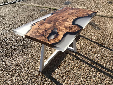 Glacier Resin Coffee Table