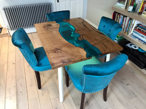 Glass River Dining Table