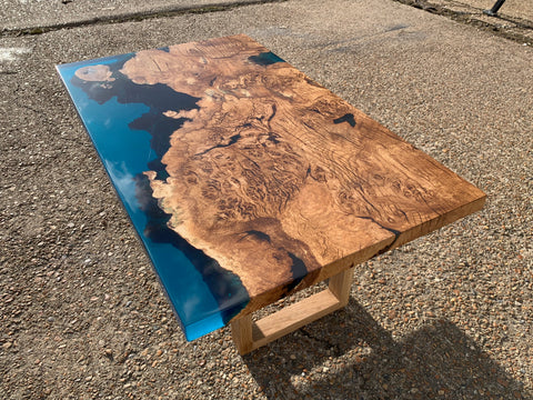 Shoreline Resin Coffee Table