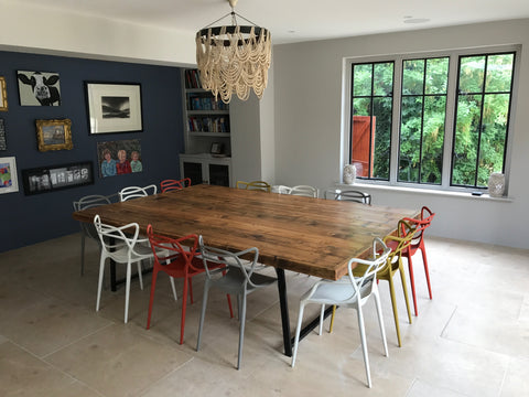 Reclaimed Wood 'Jules' Dining Table