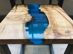 Nested Stacking Resin River Side Tables