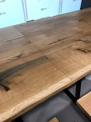 Live Edge Boardroom Conference Banquet Table