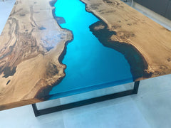Resin River Dining Table