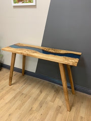 Resin River Console Table