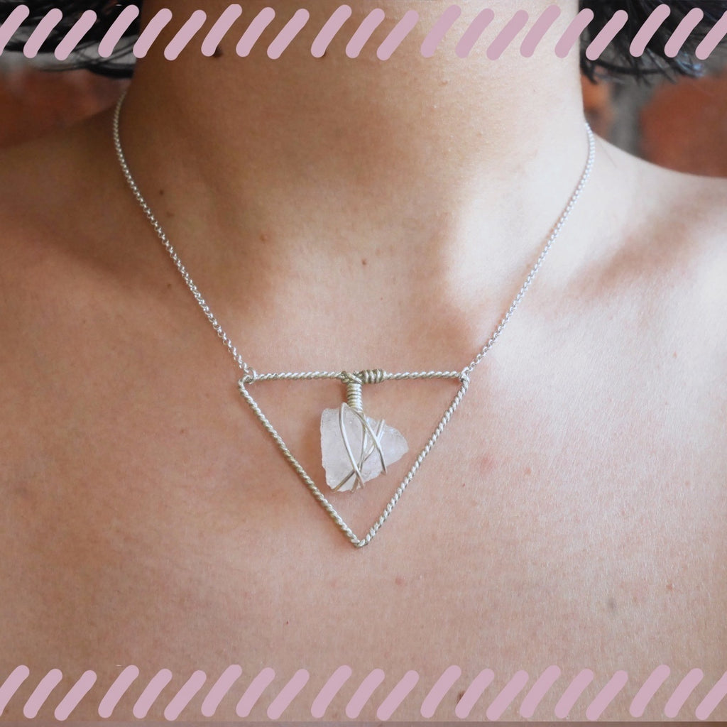 Stoner Triangle Necklace