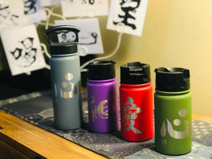 "12oz/354ml ""Harmony"" Shodo Flip Top Bottle (Royal Purple)"