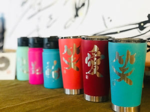 "12oz/354ml ""Beauty"" Shodo Flip Top Bottle (Lipstick Pink)"