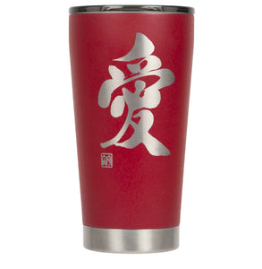"16oz ""Love"" Shodo Tumbler (Red)"