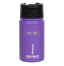 "Load image into Gallery viewer, 12oz/354ml ""Harmony"" Shodo Flip Top Bottle (Royal Purple)"