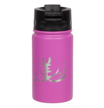 "Load image into Gallery viewer, 12oz/354ml ""Beauty"" Shodo Flip Top Bottle (Lipstick Pink)"