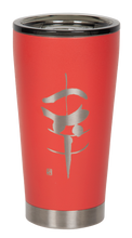 "Load image into Gallery viewer, 16oz ""Happiness"" Shodo Tumbler (Coral)"