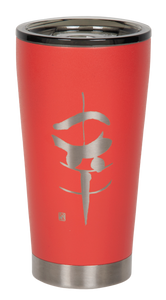 "16oz ""Happiness"" Shodo Tumbler (Coral)"