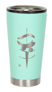 "16oz ""Happiness"" Shodo Tumbler (Cool Mint)"
