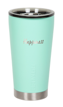 "Load image into Gallery viewer, 16oz ""Happiness"" Shodo Tumbler (Cool Mint)"